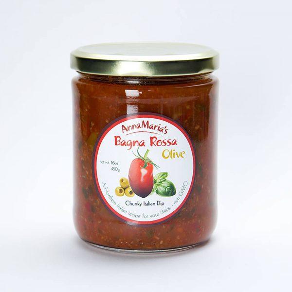 Bagna Rossa Olive Chunky Italian Dip - Anna Maria's Foods