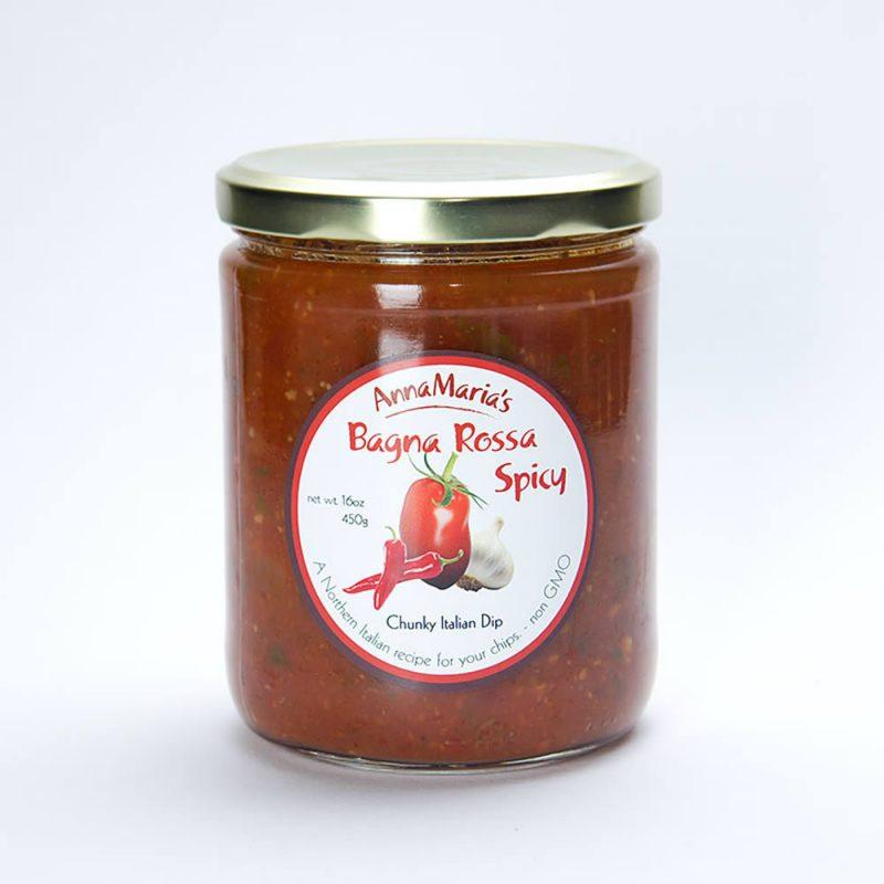 Bagna Rossa Spicy Chunky Italian Dip - Anna Maria's Foods