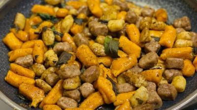 Tricolor harvest gnocchi | Anna Maria's Foods